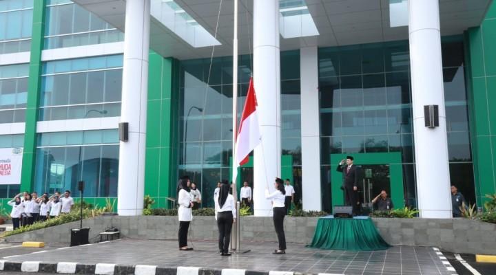 Ratusan karyawan PT. KBN (Persero)Peringati Hari Sumpah Pemuda ke-90