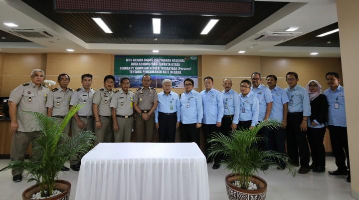 BPN Komitmen Jaga Aset Negara di KBN
